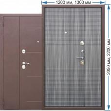 Стальная дверь 7,5 см Garda 1200
