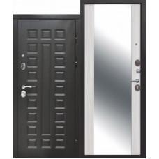 Входная дверь 12 см СЕНАТОР ЗЕРКАЛО МДФ/МДФ