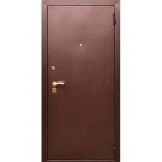 Металлическая дверь 1/2 стандарт м/м